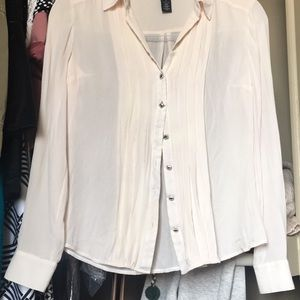 White House Black Market Tops - White House black market silk blouse.